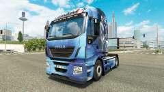 La peau un Effet de Masse pour camion Iveco Hi-W