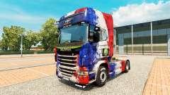 La peau de la France Copa 2014 pour Scania camio
