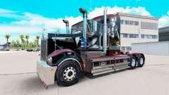 Haut Sally auf Traktor Kenworth-T908