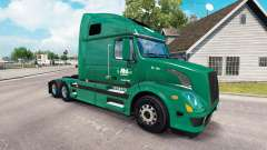 La peau R-L Transporteurs sur le camion Volvo VN
