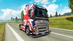 Die England Copa 2014 skin für Volvo-LKW