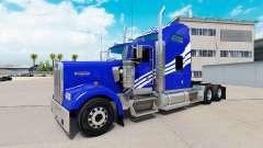 La peau Château Blanc sur le camion Kenworth W90