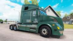La peau de Services pour LDI tracteur Volvo VNL