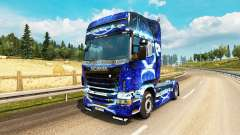 Dub Step de la peau pour Scania camion