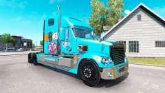 La peau de la Petite 43 tracteur Freightliner Co
