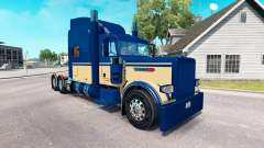 6 skin Personnalisé pour le camion Peterbilt 389