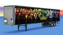 All-Metall-semi-trailer zu League of Legends