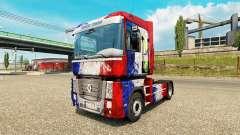 La peau de la France Copa 2014 sur un tracteur R