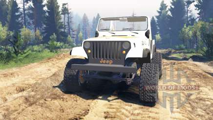 Jeep CJ-7 Renegade [Dixie] v2.0 pour Spin Tires