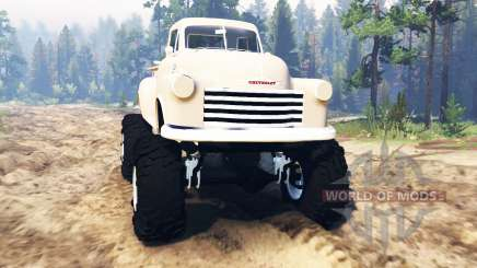 Chevrolet 3100 1951 pour Spin Tires