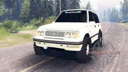 Suzuki Grand Vitara v2.0 für Spin Tires