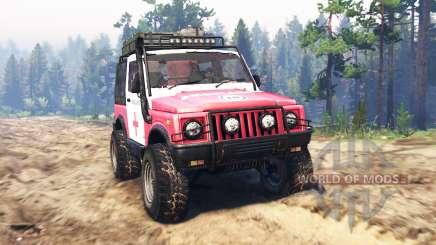 Suzuki SJ 410 für Spin Tires