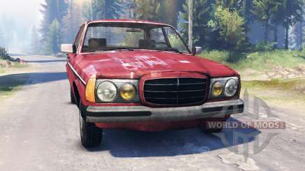 Mercedes-Benz 123d v2.0 pour Spin Tires