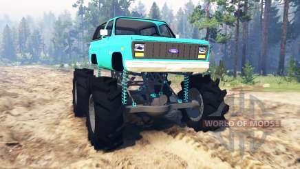 Ford Bronco 1984 für Spin Tires