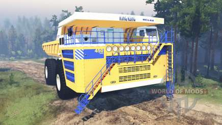 BelAZ-75710 pour Spin Tires