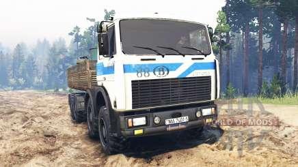 MZKT-7401 2004 v2.0 pour Spin Tires