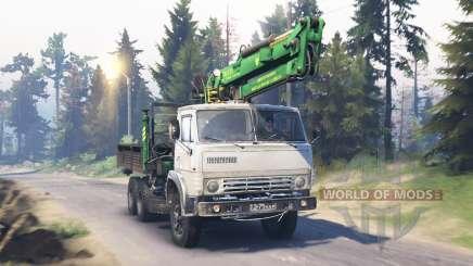 KamAZ-53212 v5.0 pour Spin Tires