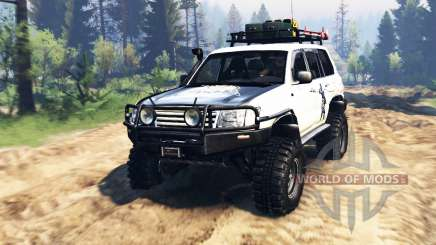 Toyota Land Cruiser 100 2000 [Samuray] v2.0 pour Spin Tires