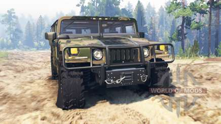 Hummer H1 für Spin Tires