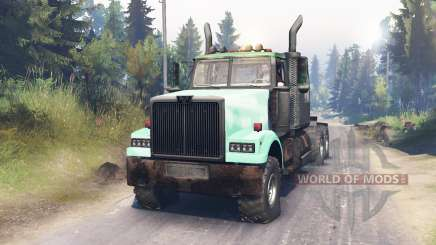 Western Star 4900 pour Spin Tires