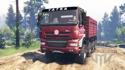 Tatra Phoenix T 158 8x8 v5.0 pour Spin Tires