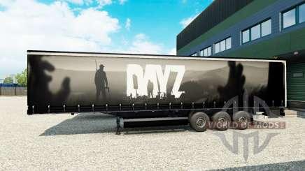 La peau DayZ sur semi pour Euro Truck Simulator 2