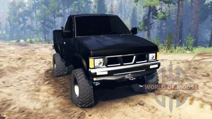 Nissan Hardbody Standard Cab (D21) 1993 pour Spin Tires