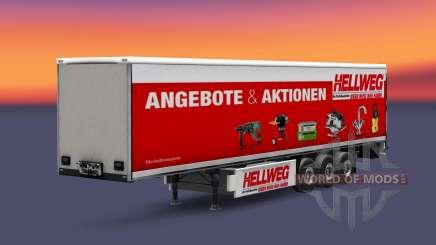 Eine Sammlung von skins auf die isometrische semi-trailer für Euro Truck Simulator 2