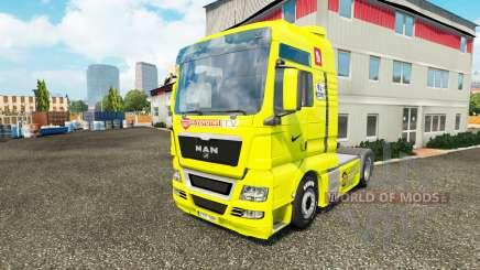 La peau de l'Arsenal pour le tracteur HOMME pour Euro Truck Simulator 2