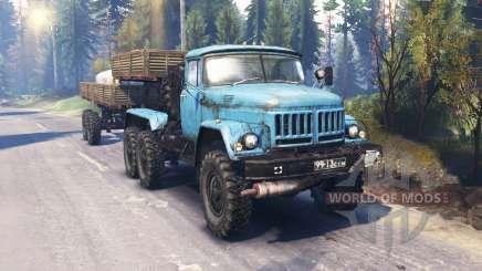 ZIL-137-137Б [blue] v2.0 für Spin Tires