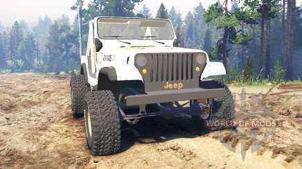 Jeep CJ-7 Renegade [Dixie] pour Spin Tires