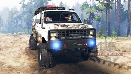 Ford E-350 [econoline safari] pour Spin Tires