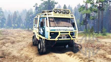 UAZ-3909 v2.0 pour Spin Tires