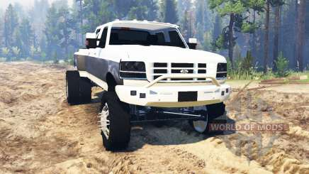 Ford F-350 OBS Dually 1994 pour Spin Tires