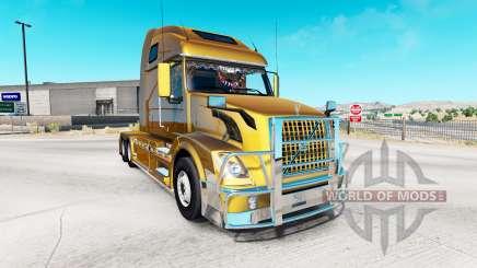 Volvo VNL 670 v1.3 pour American Truck Simulator