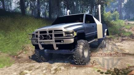 Dodge Ram v2.0 pour Spin Tires