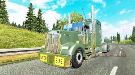 Kenworth W900L 2000 v1.6 pour Euro Truck Simulator 2