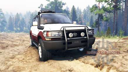 Toyota Land Cruiser 80 VX 1990 pour Spin Tires