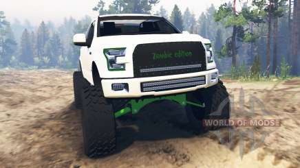 Ford F-150 [zombie edition] pour Spin Tires