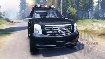 Cadillac Escalade v2.0 pour Spin Tires