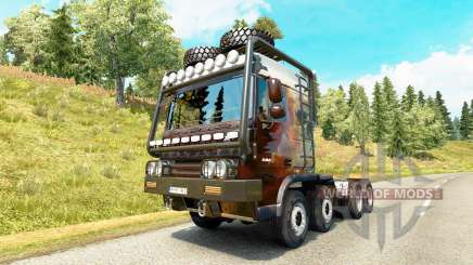 DAF XF [crawler & high lift] pour Euro Truck Simulator 2