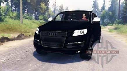 Audi Q7 v4.0 pour Spin Tires