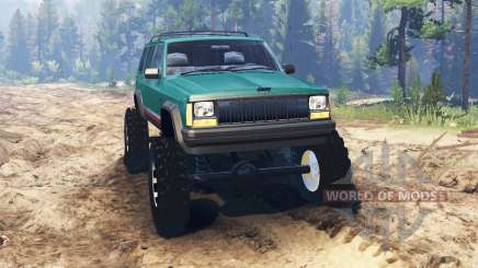 Jeep Cherokee XJ 1996 pour Spin Tires