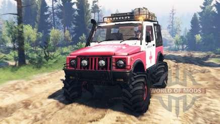 Suzuki SJ 410 v2.0 pour Spin Tires