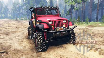 Jeep Wrangler pour Spin Tires