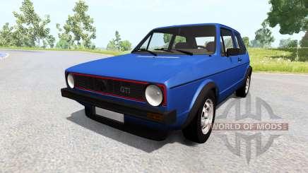 Volkswagen Golf Mk1 pour BeamNG Drive
