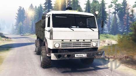 KamAZ-43114 v2.0 pour Spin Tires
