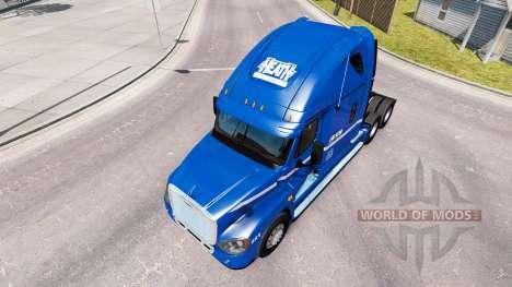 Haut Robert Heide auf der Zugmaschine Freightlin für American Truck Simulator