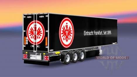 Semi-Remorque Chereau, L'Eintracht Francfort pour Euro Truck Simulator 2