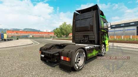 Die Haut Monster-LKW Mercedes-Benz für Euro Truck Simulator 2